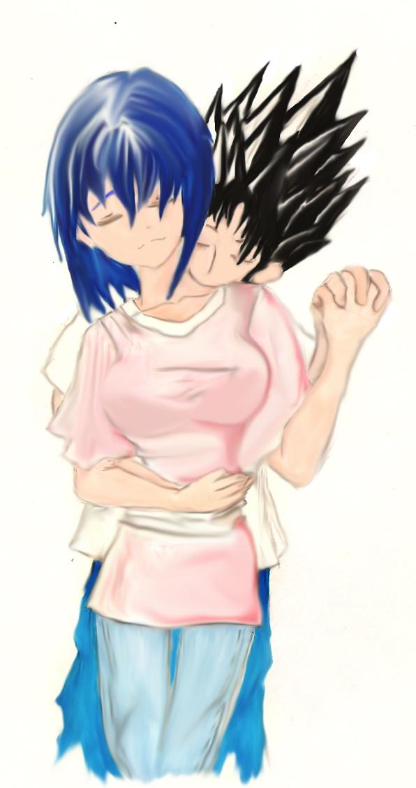 Sakura and Topher