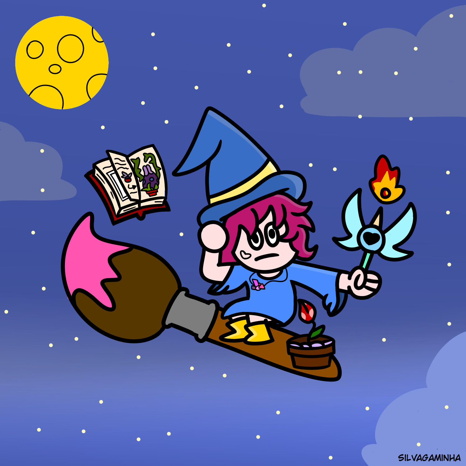 Flying Witchy