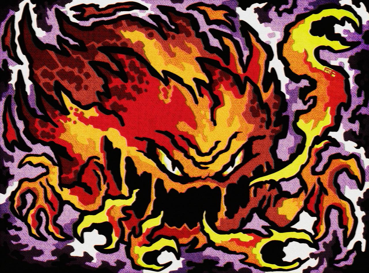 Fiery Bomb