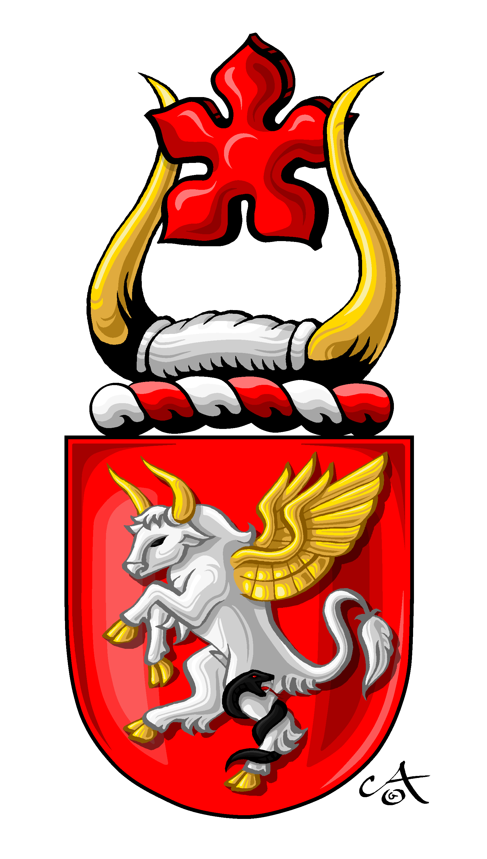 XmanABQ's Shield and Crest