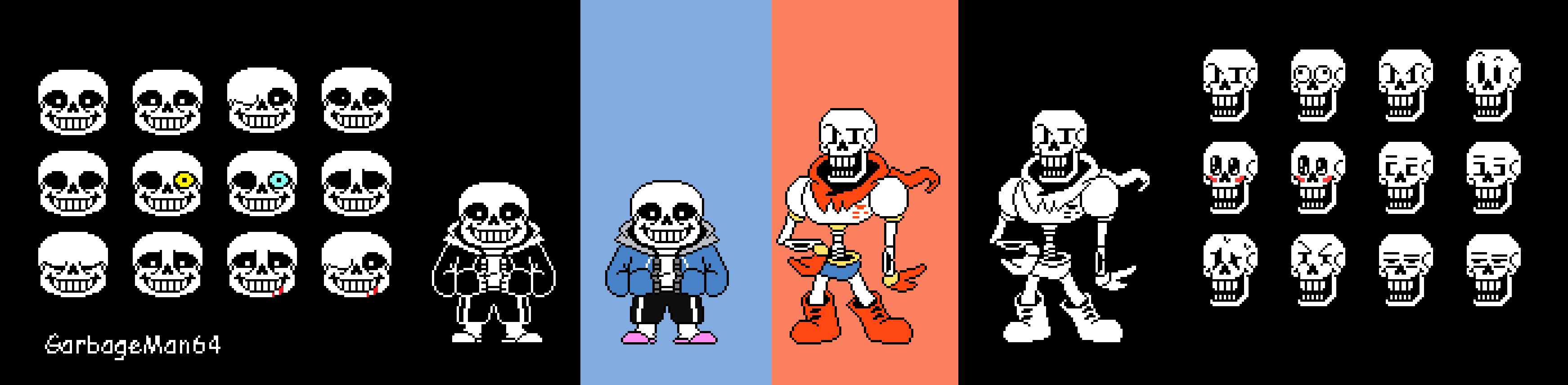 Sans V3 and Papyrus V2