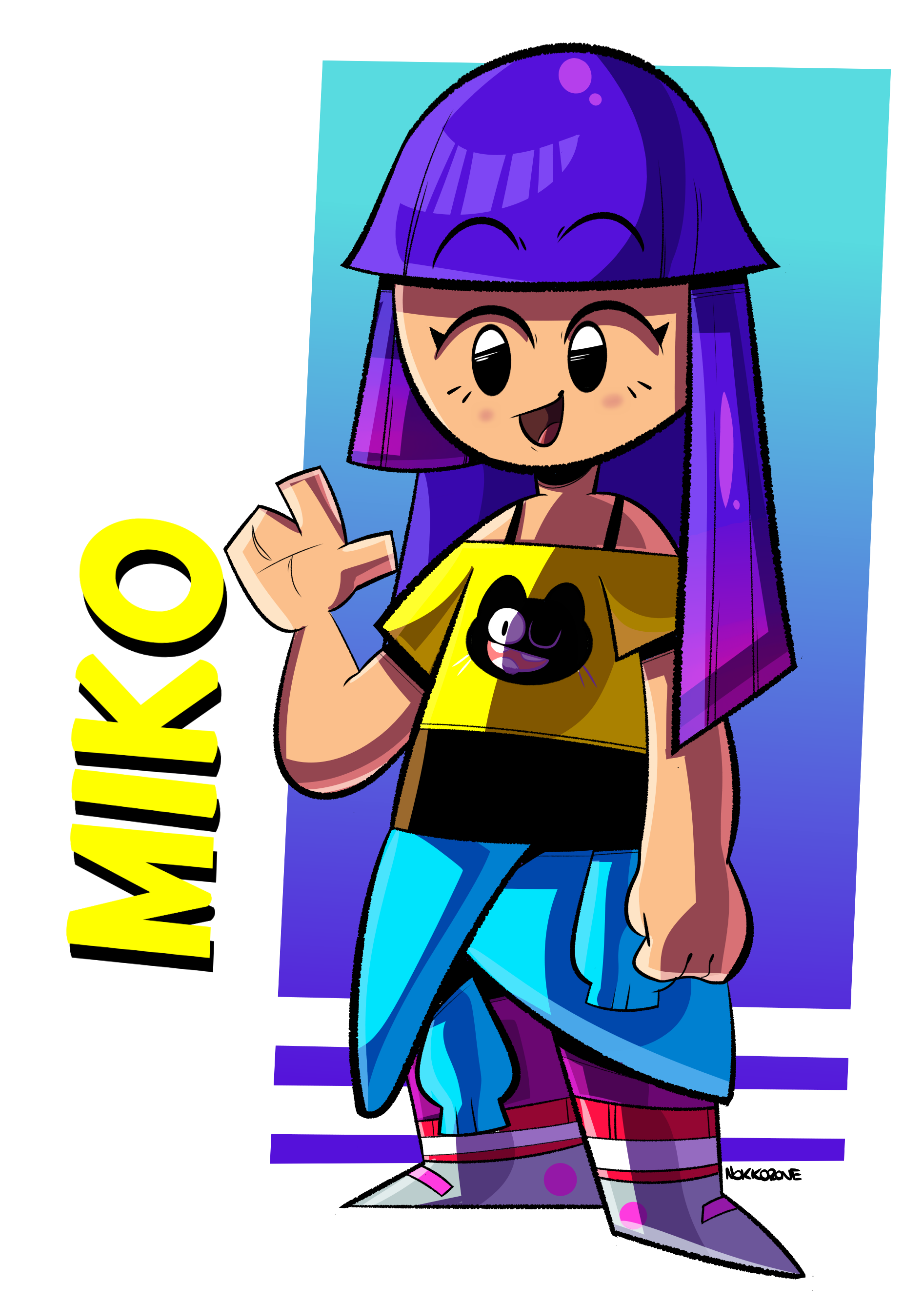 miko by dudgns964 on Newgrounds