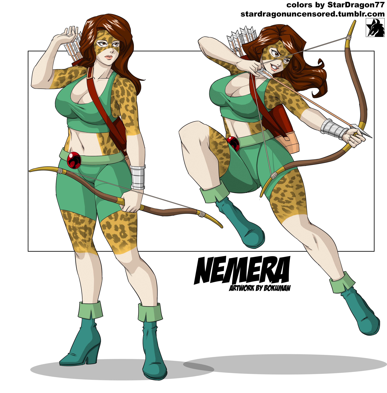 Coloring Commission - Bokuman - Nemera