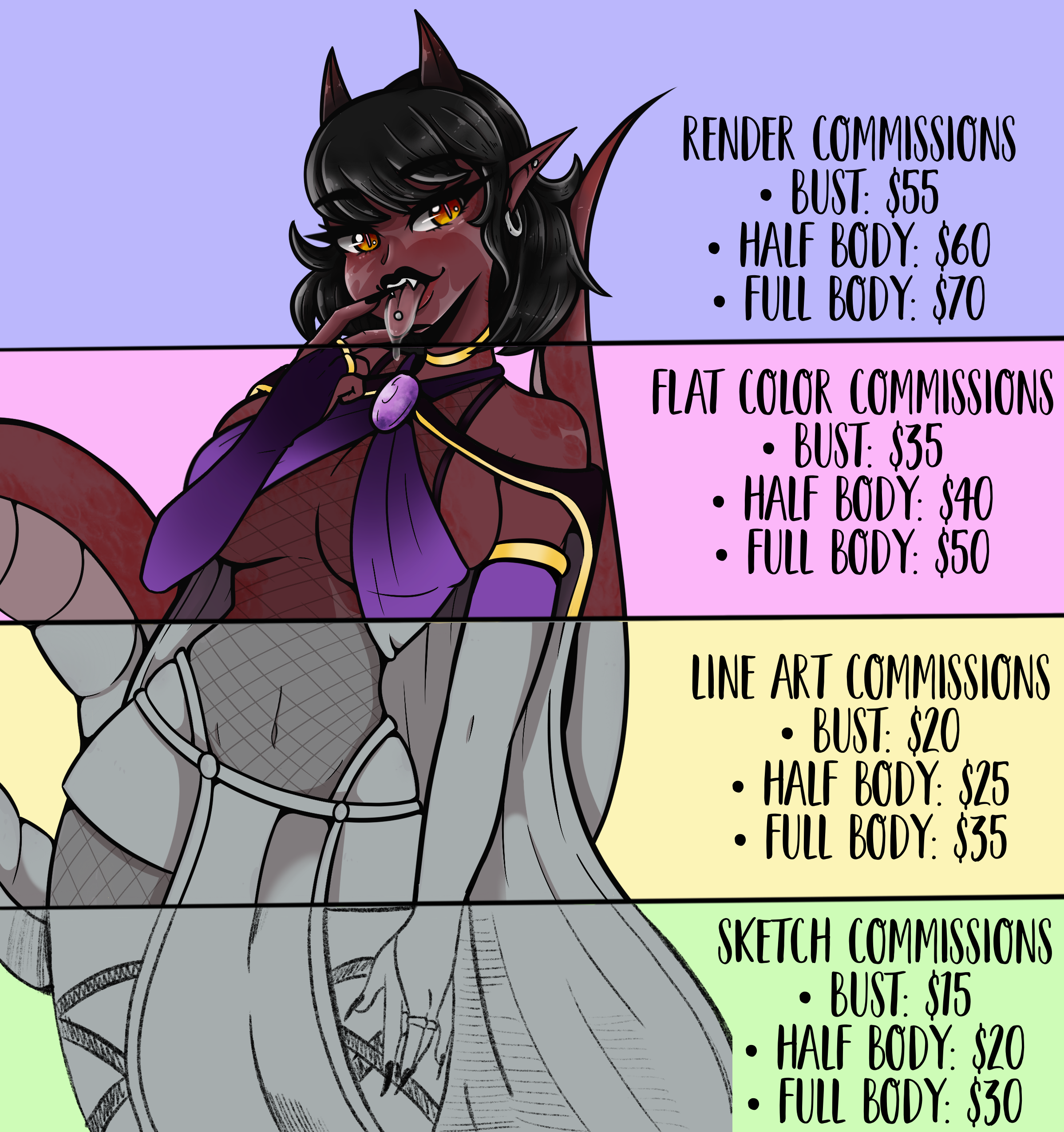Commission Sheets!