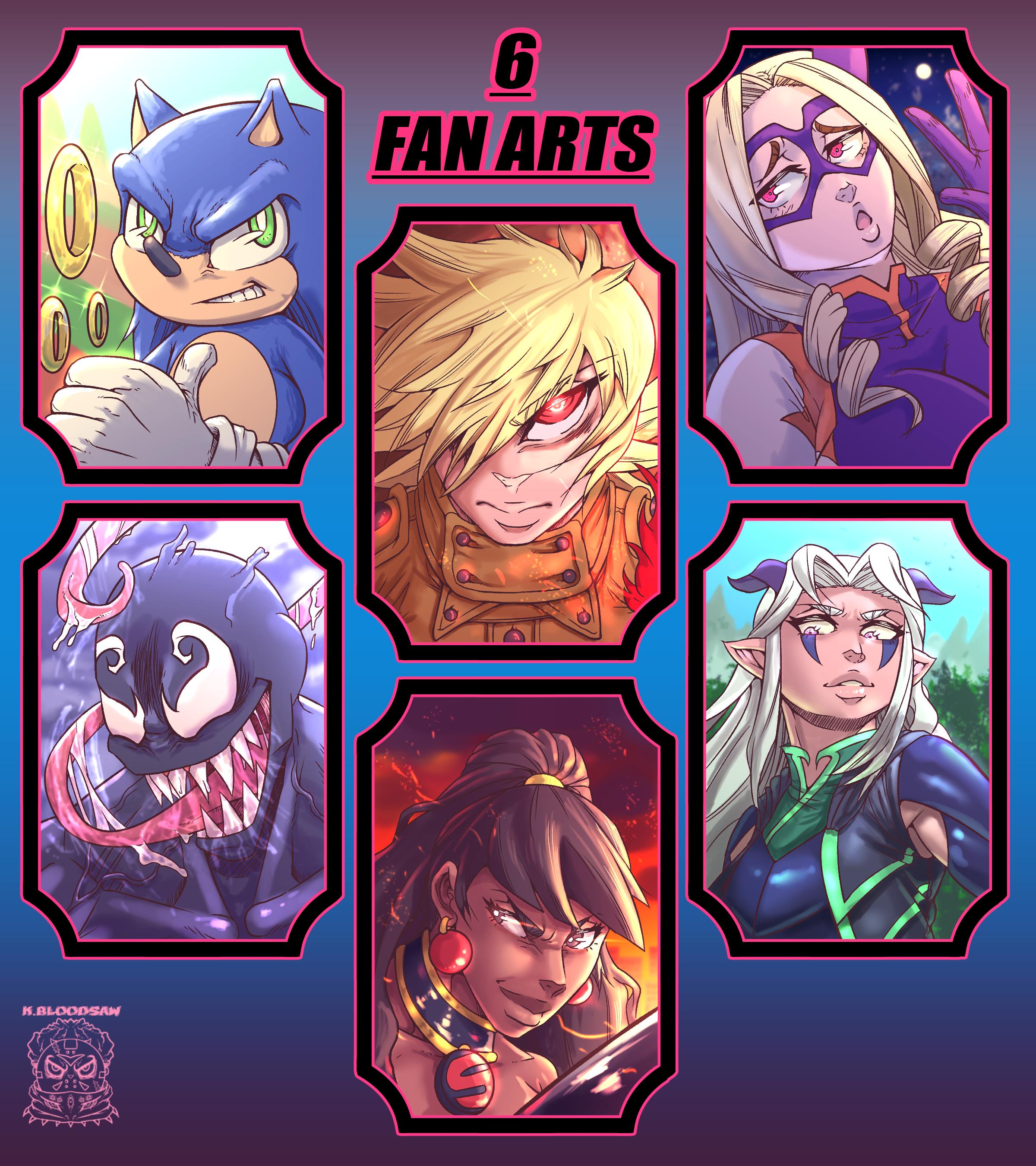 6 fan art