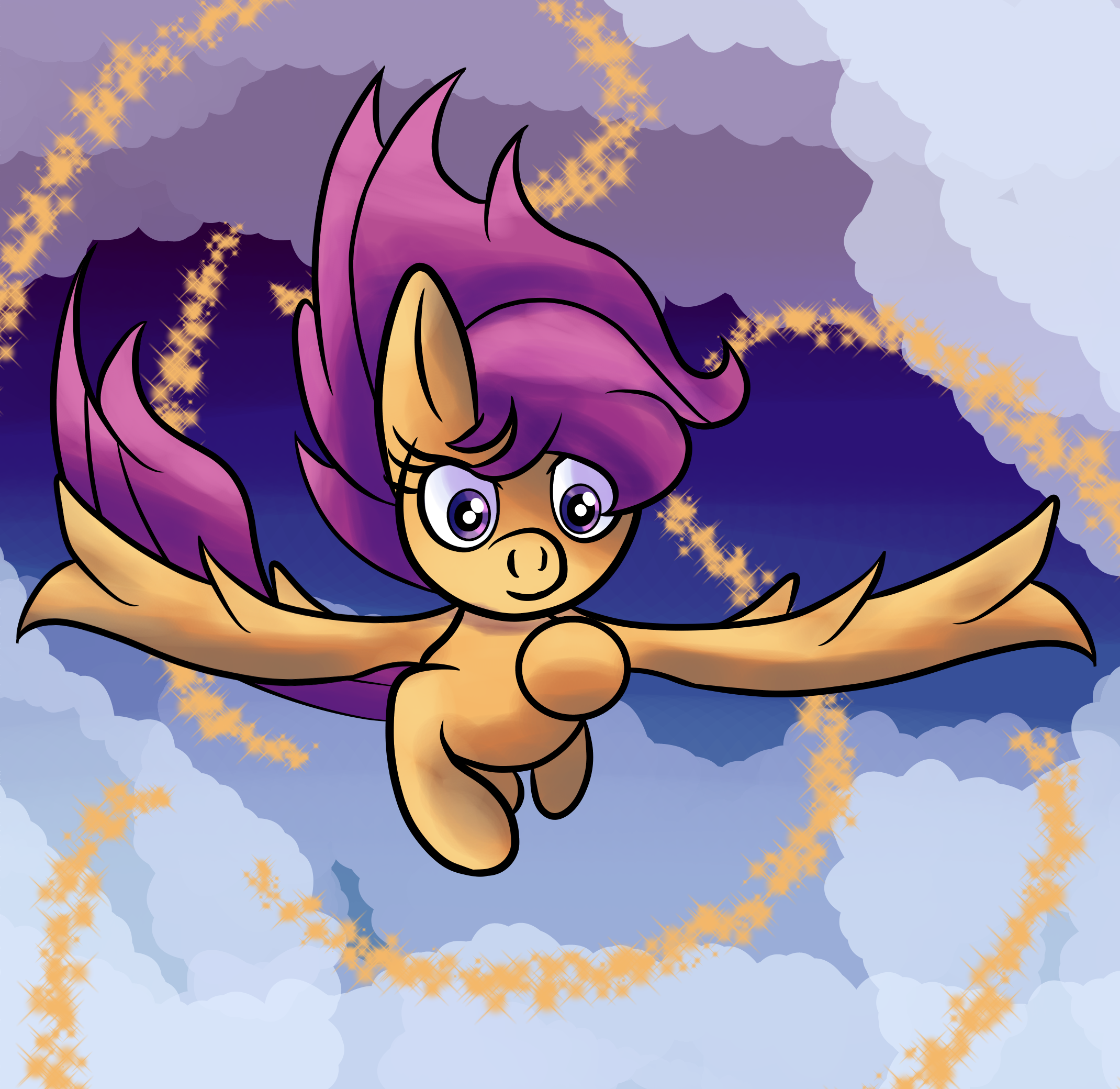 Scootaloo Finding Her Inner Courage By Superhypersonic2000 On Newgrounds Romi park (born 1972), korean. newgrounds com