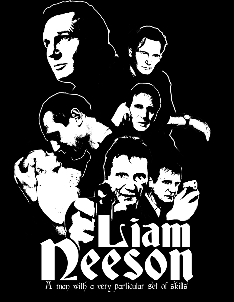 Liam Neeson - Shirt design