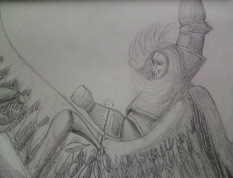 The Defender II (sketch)