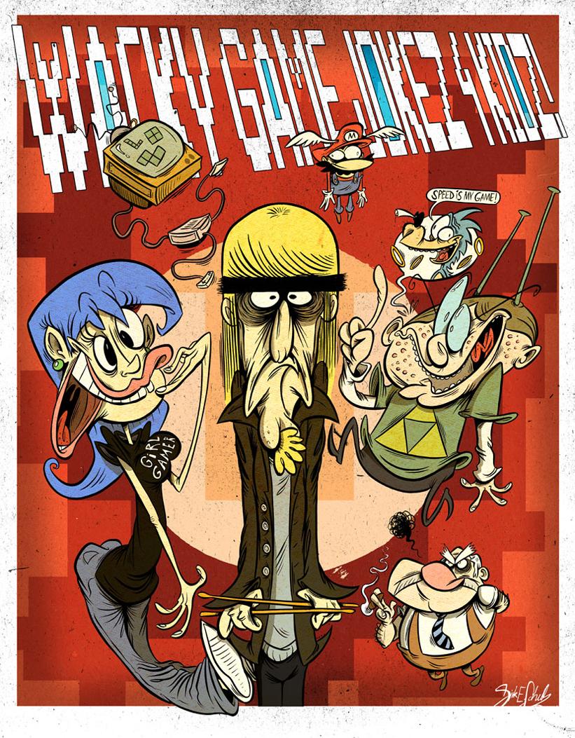 Wacky Game Jokez 4 Kidz!