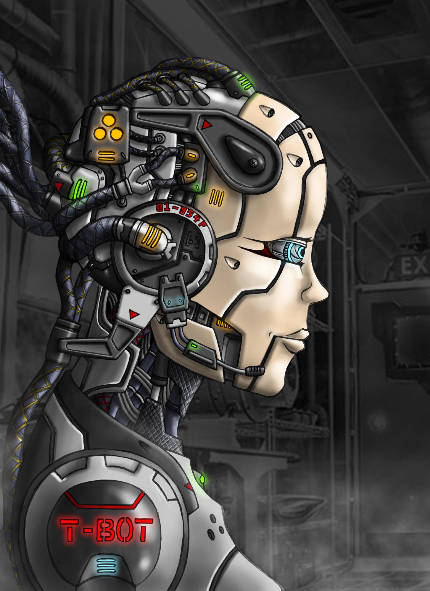 Female Cyborg