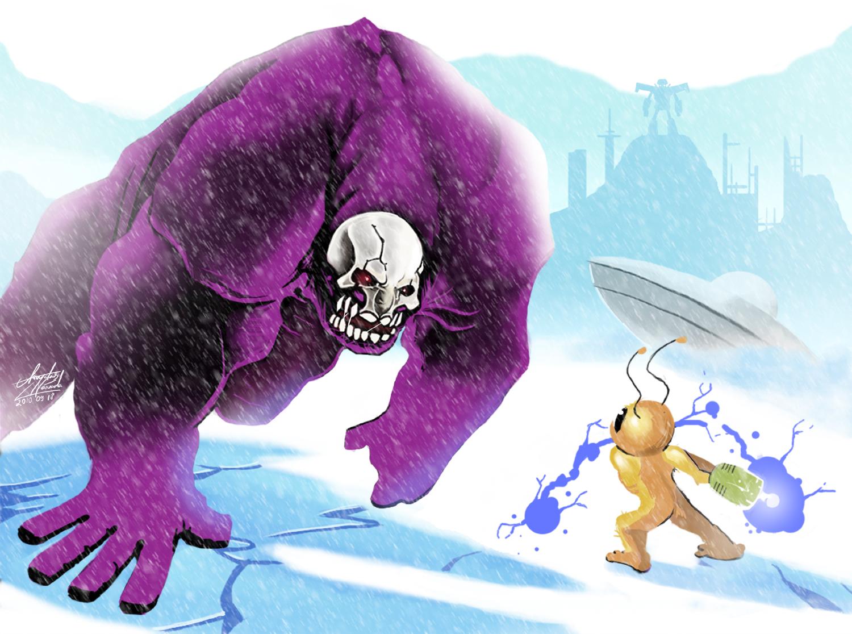 Those Purple and Yellow Demons