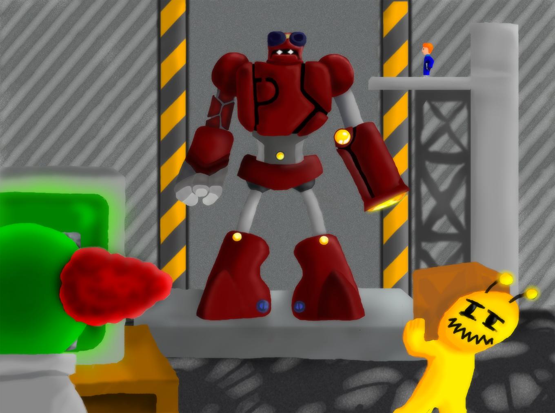 P-Bot Hangar
