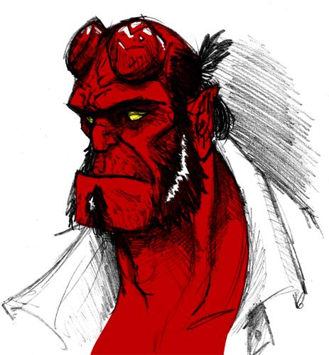 Hellboy Fan art