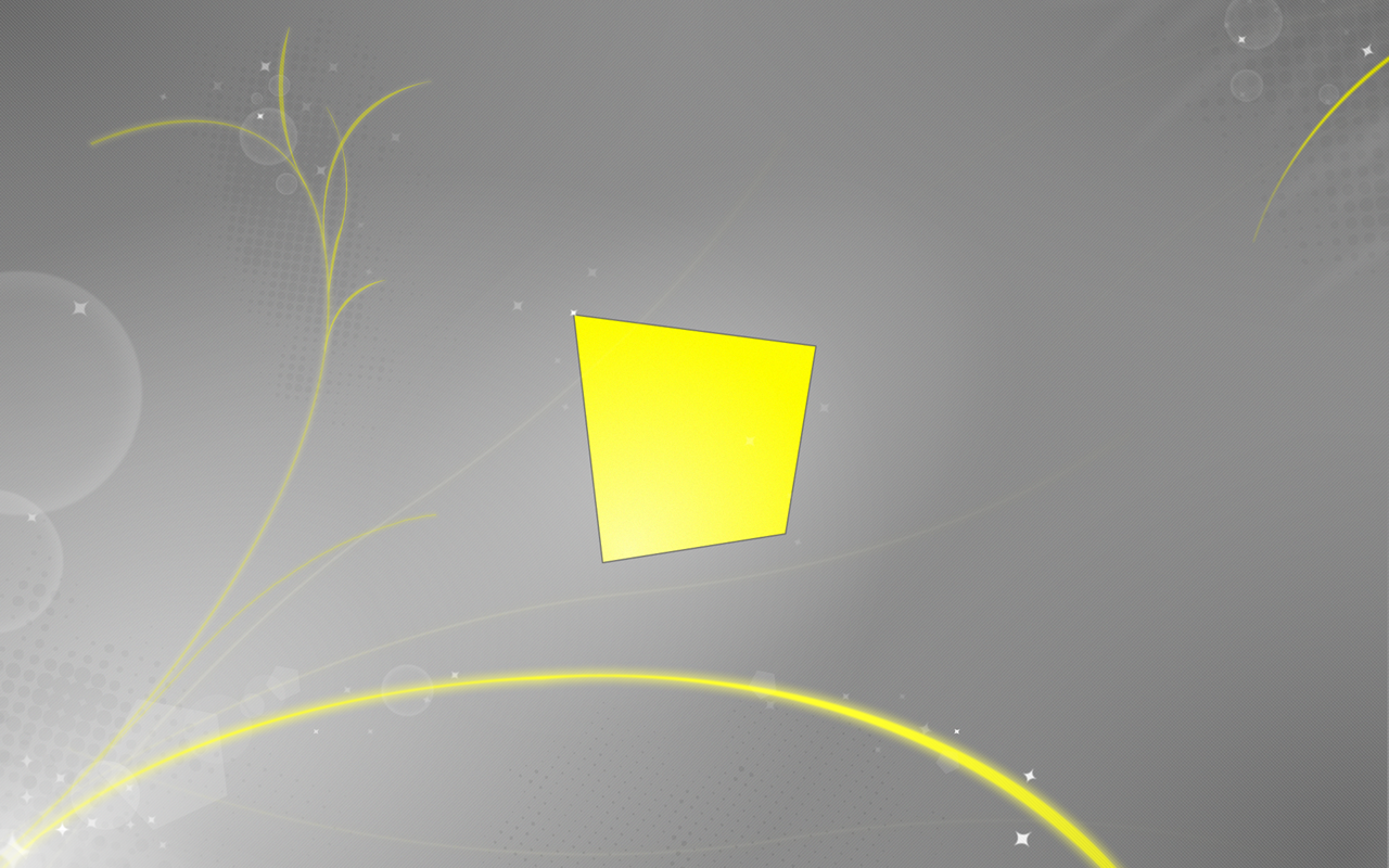 Abstract Yellow land