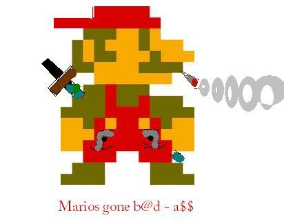 Mario's fully loaded