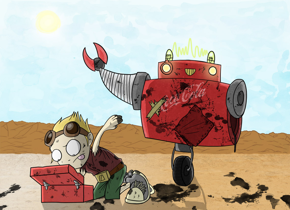 A Boy & His Robot