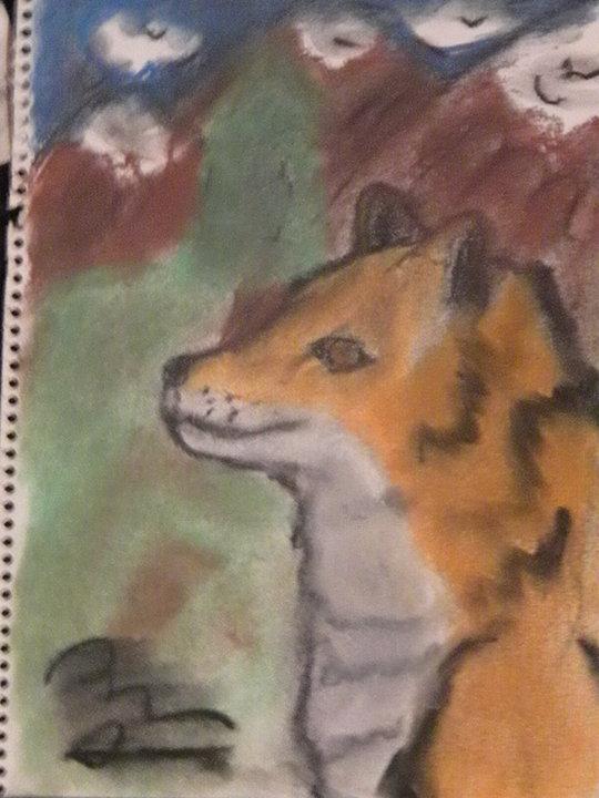 the Pastel fox...