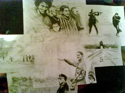 Holocaust Drawing Collage