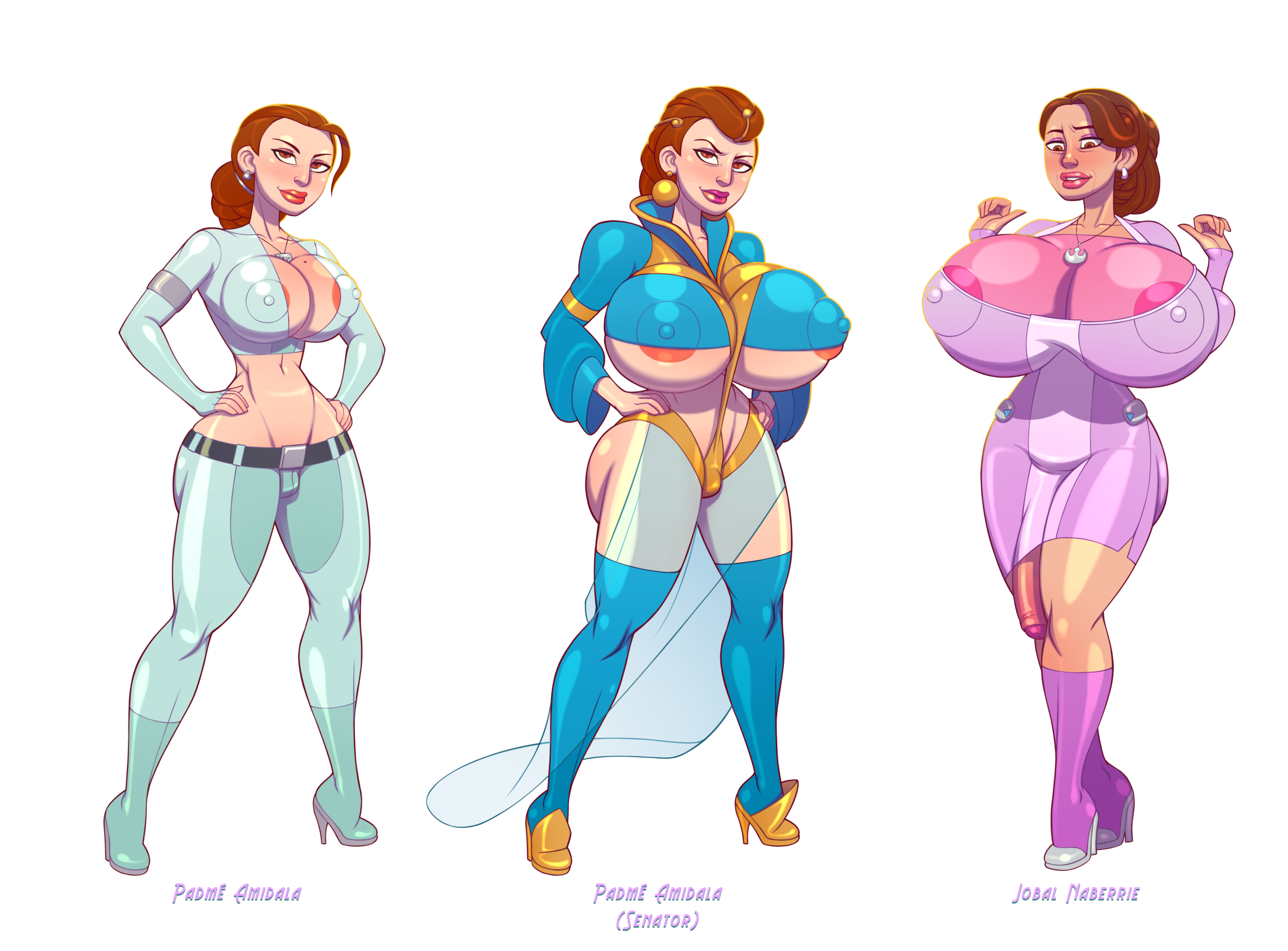 Padme's Younglings Lineup, Group 1