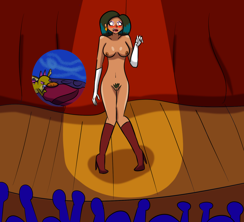 [COMMISSION] Evil Princess on Stage