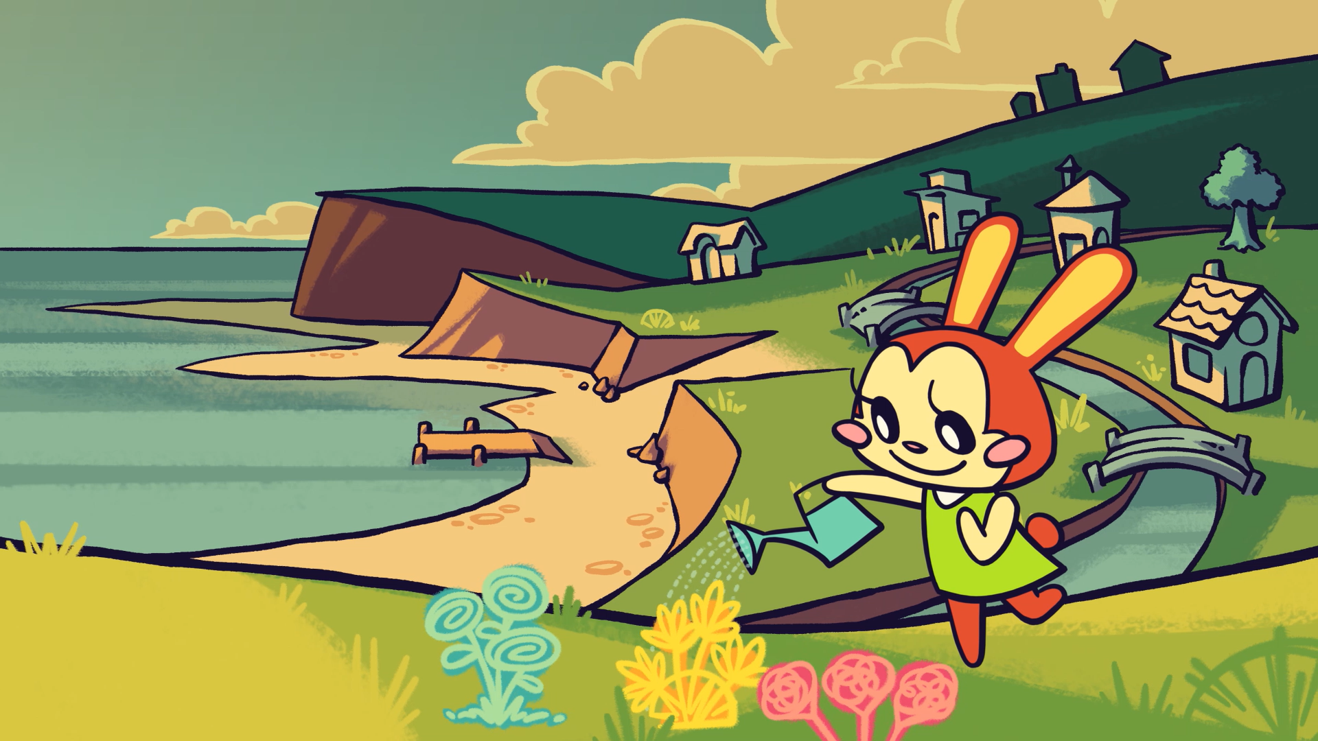 Animal Crossing Animation Layouts