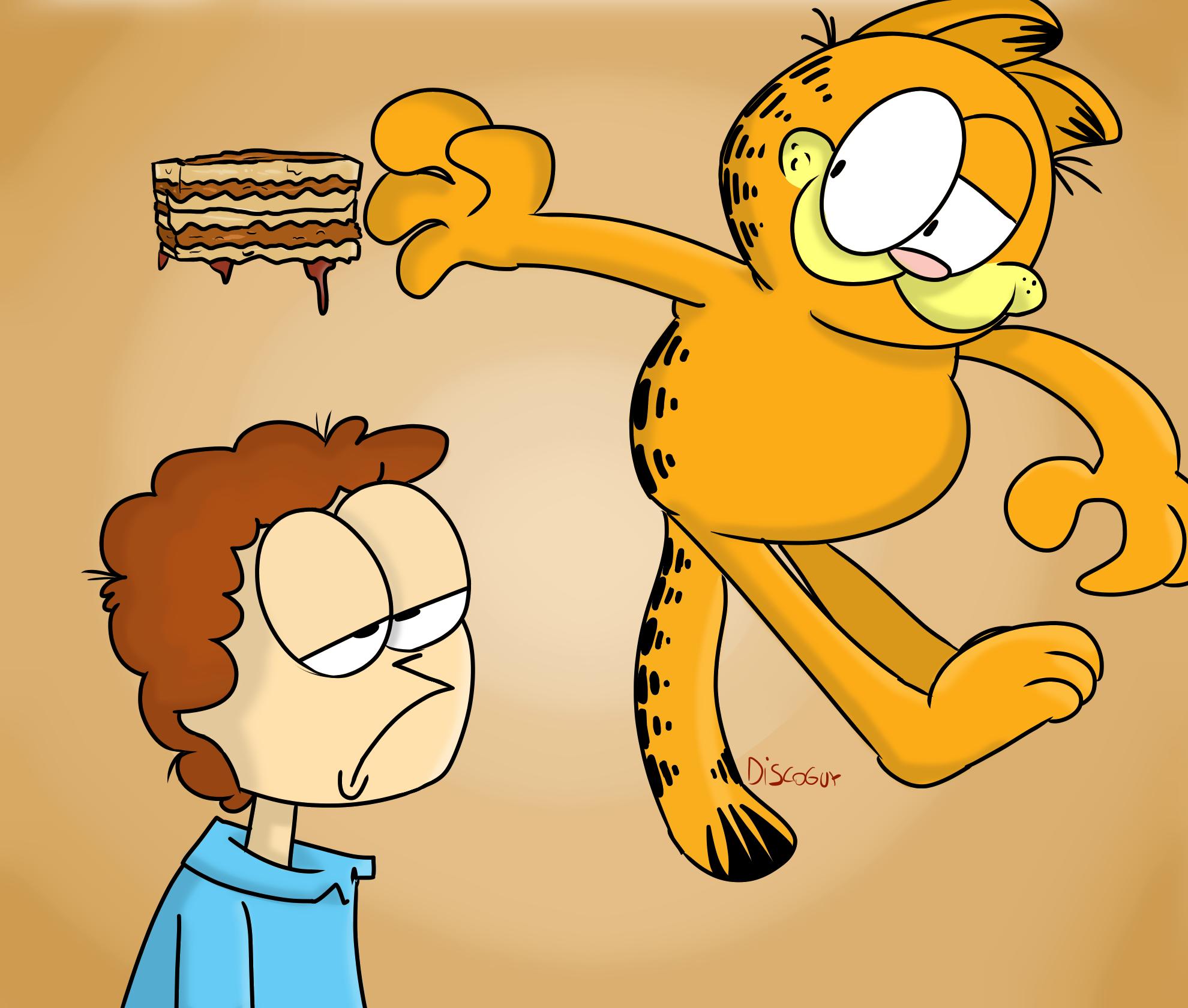 Jon and Garfield