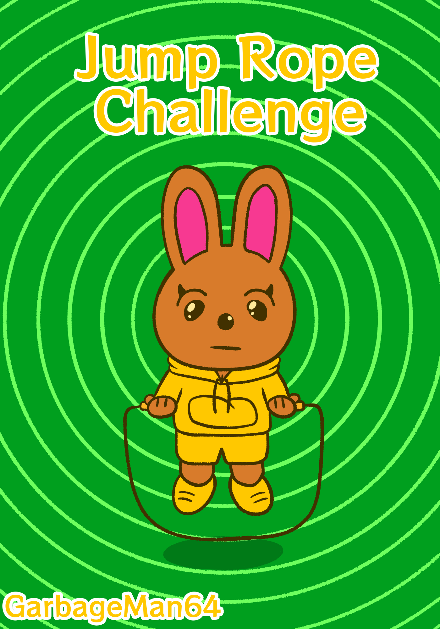 Jump Rope Challenge Bunny