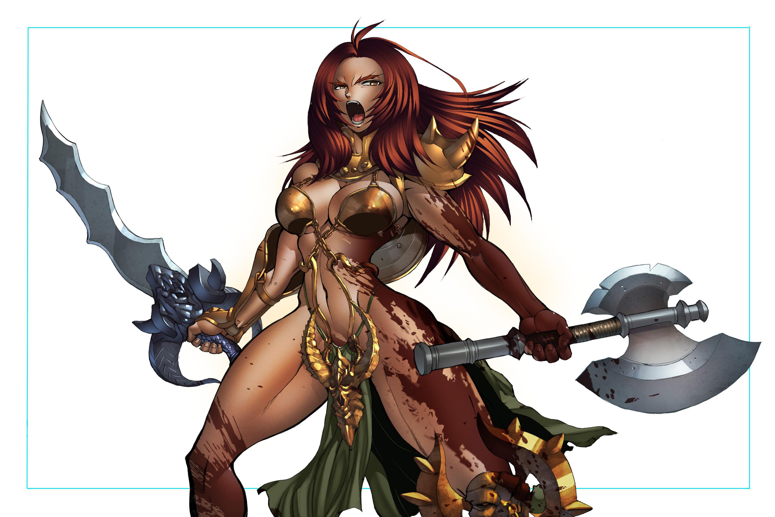 Sexy Barbarian