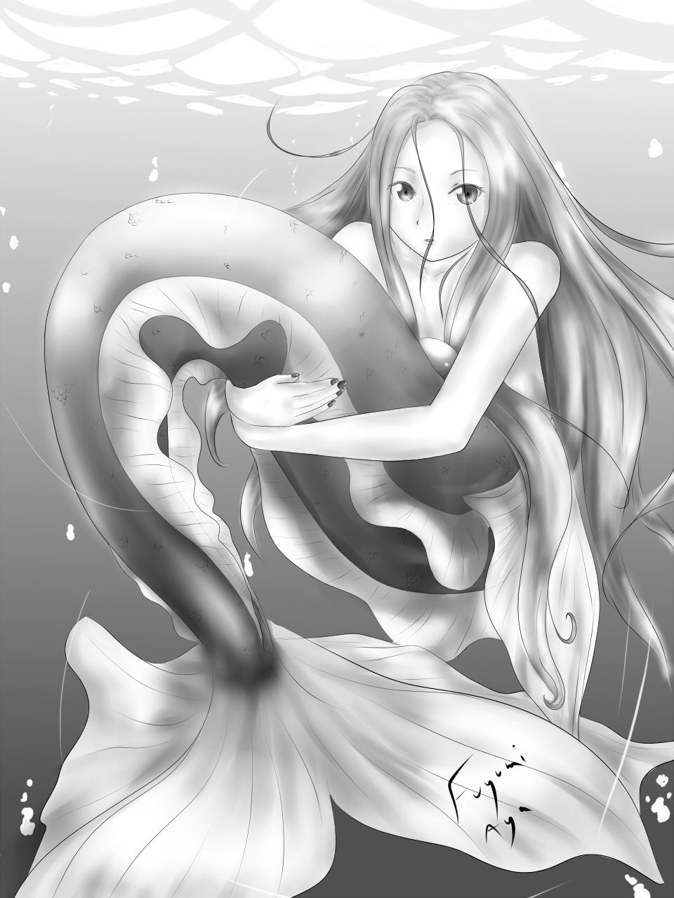 Crimson Mermaid