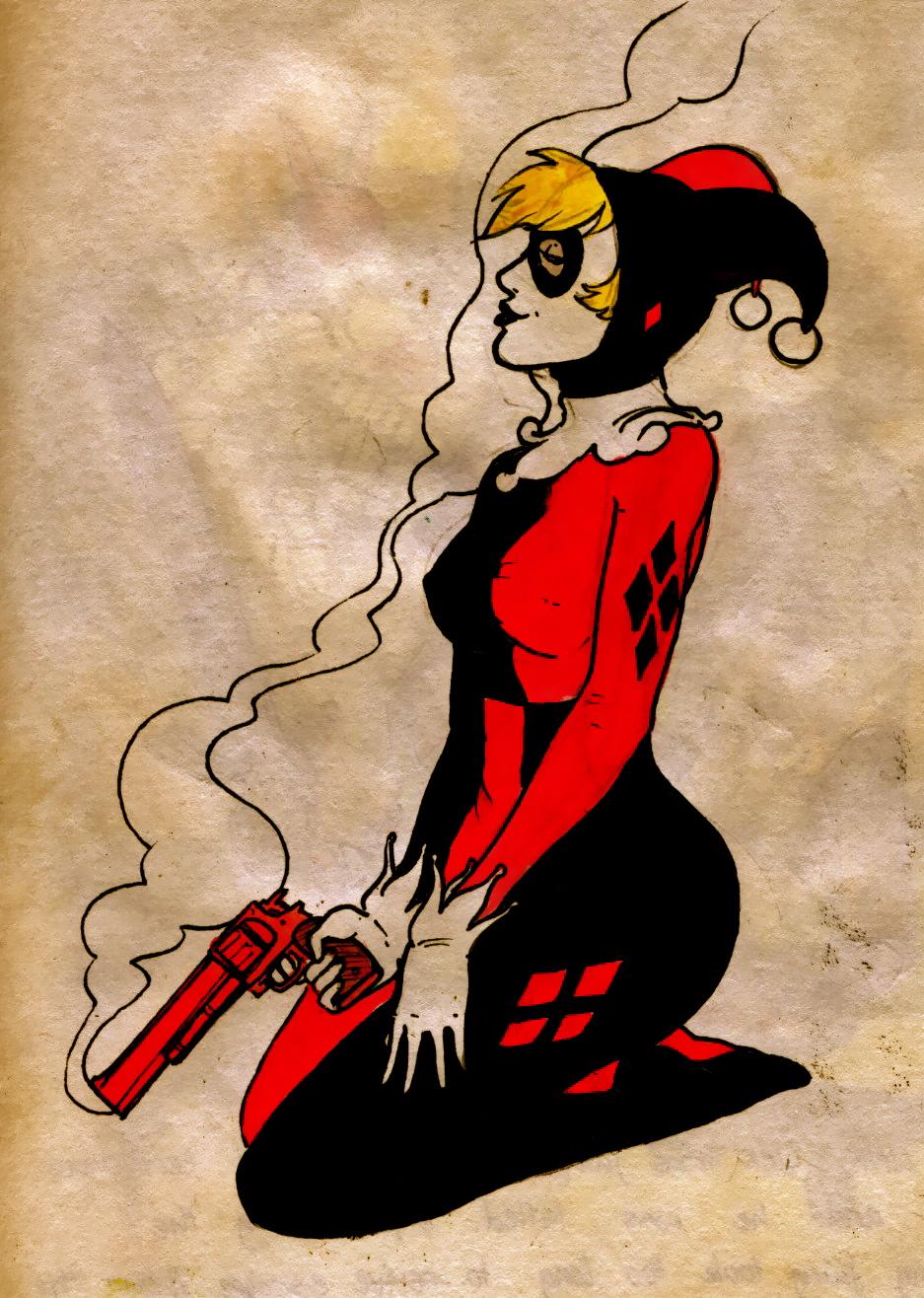 Harley quinn ... again