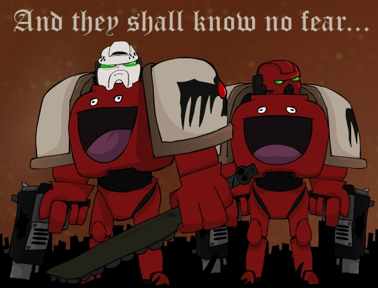 """""""These are my Space Marines"""""""