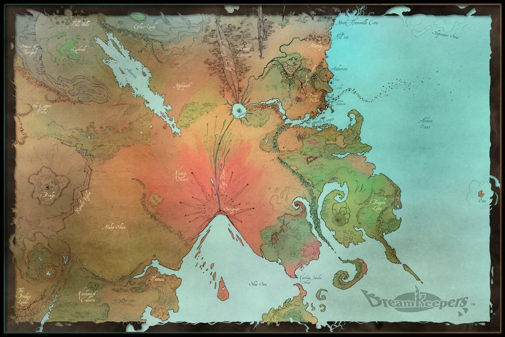 Dreamkeepers Worldmap