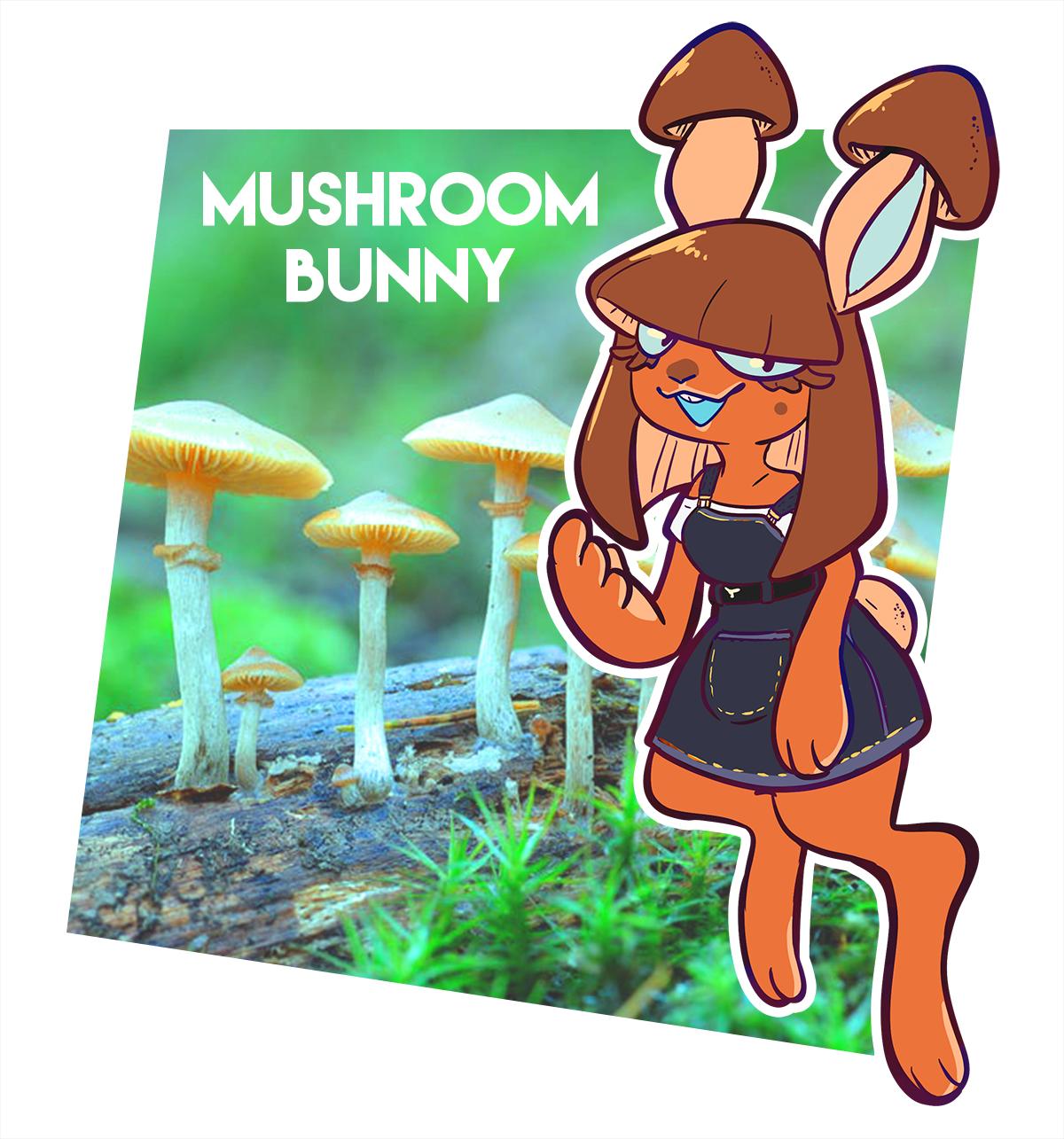 Mushroom Bunny