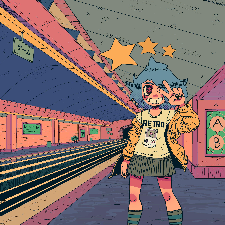 chiptune metro
