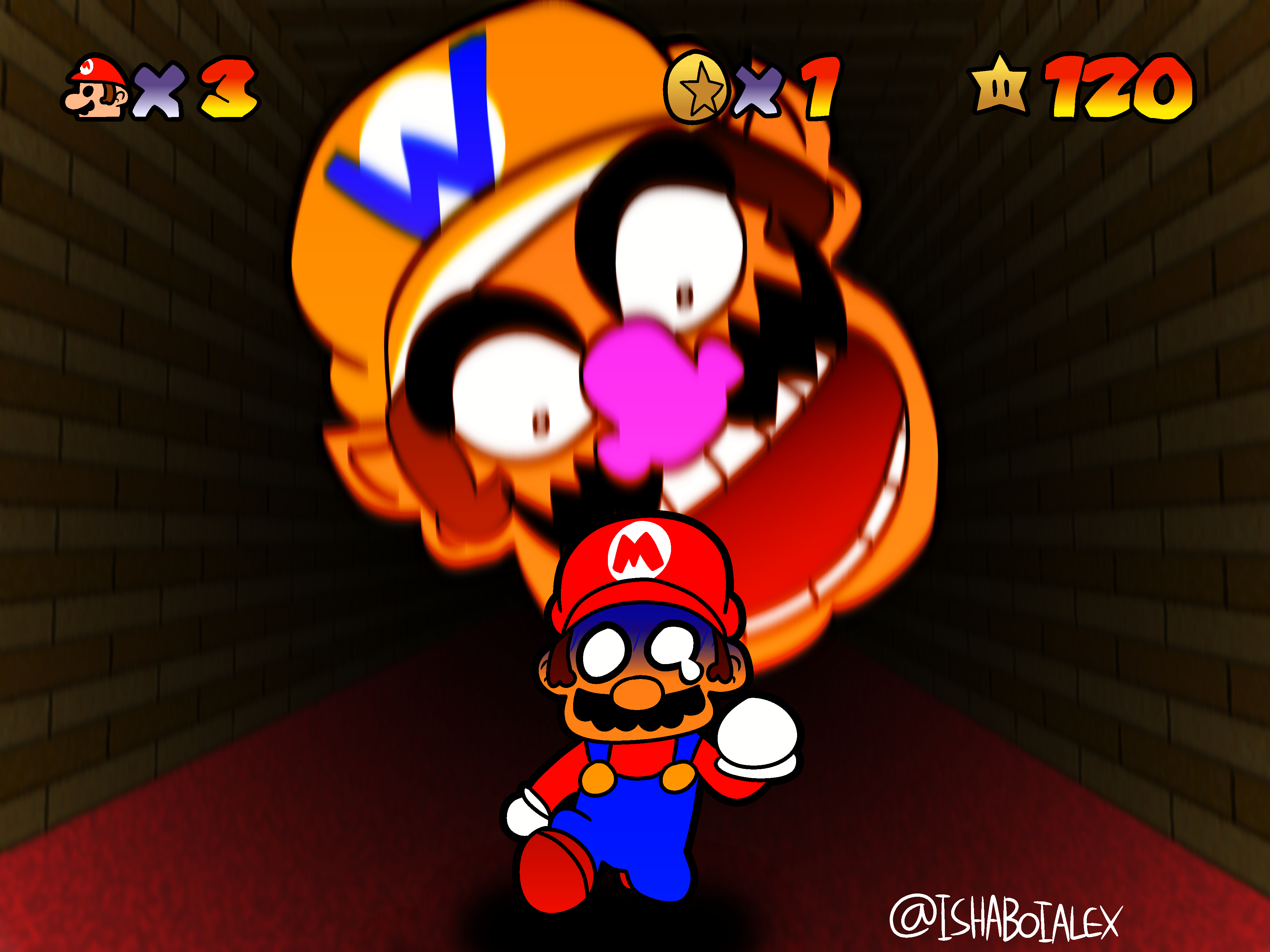THE WARIO APPARITION by IshaBoiAlex on Newgrounds