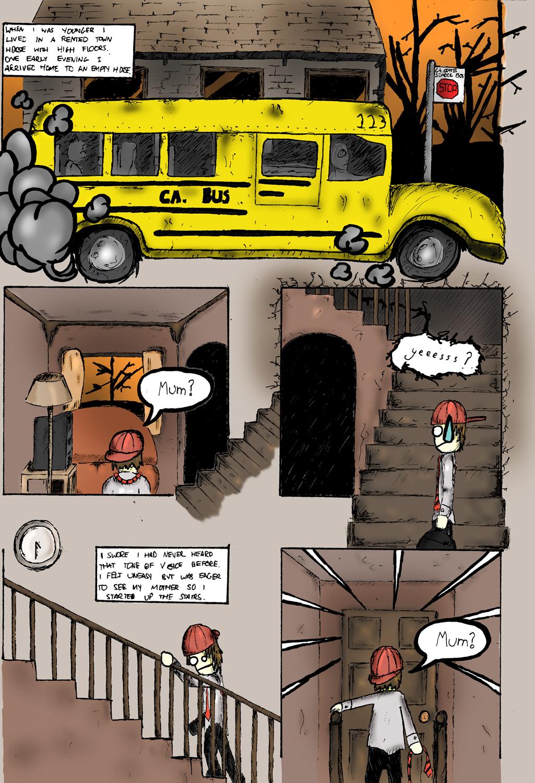SLENDERMAN 2 PAGE COMIC PAGE 1