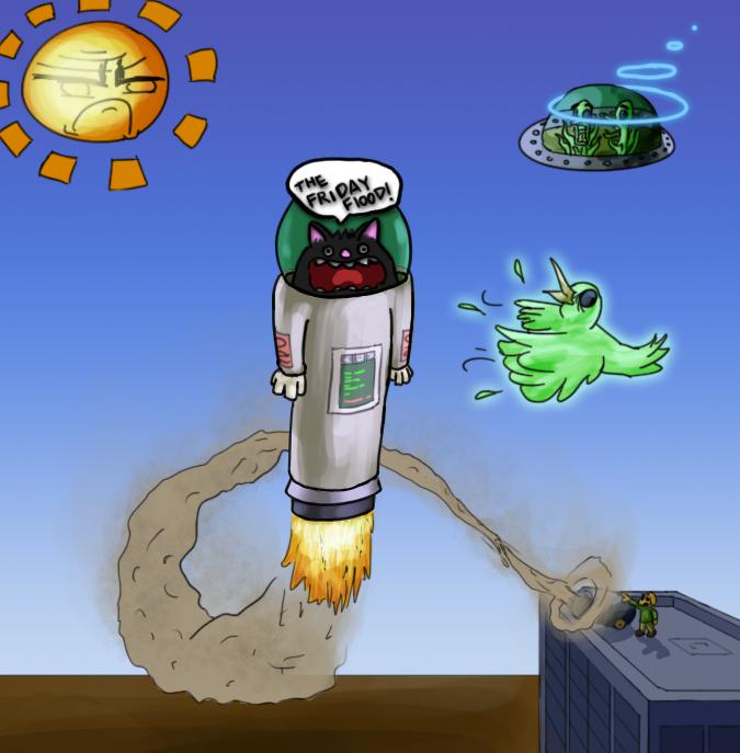 Rocket Powered Cat