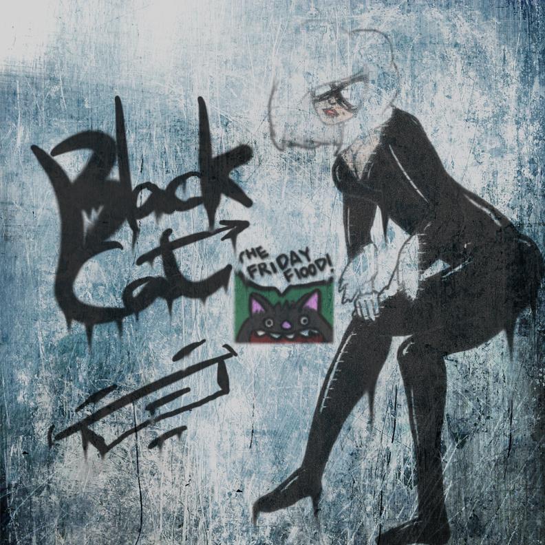 Black Cat Tag