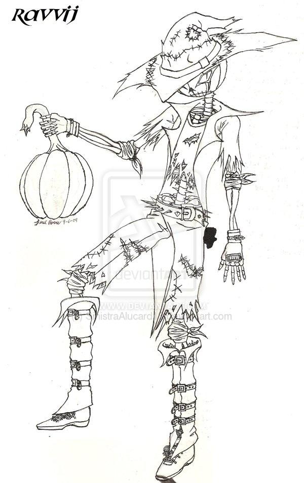 Ravvij the Scarecrow