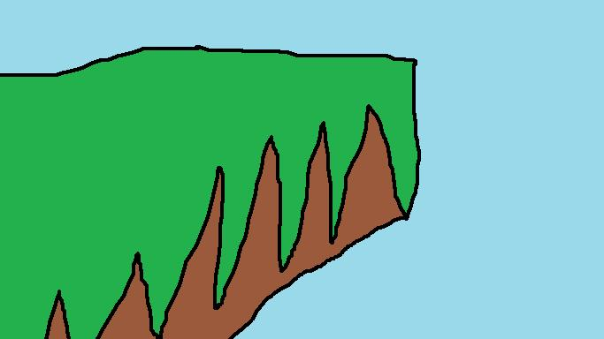 Cliff of AWESOME