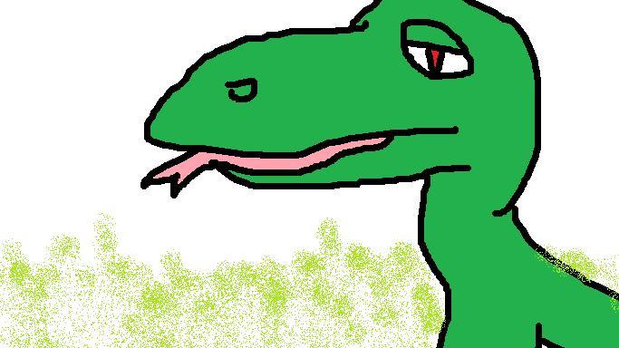 The Sad Dino