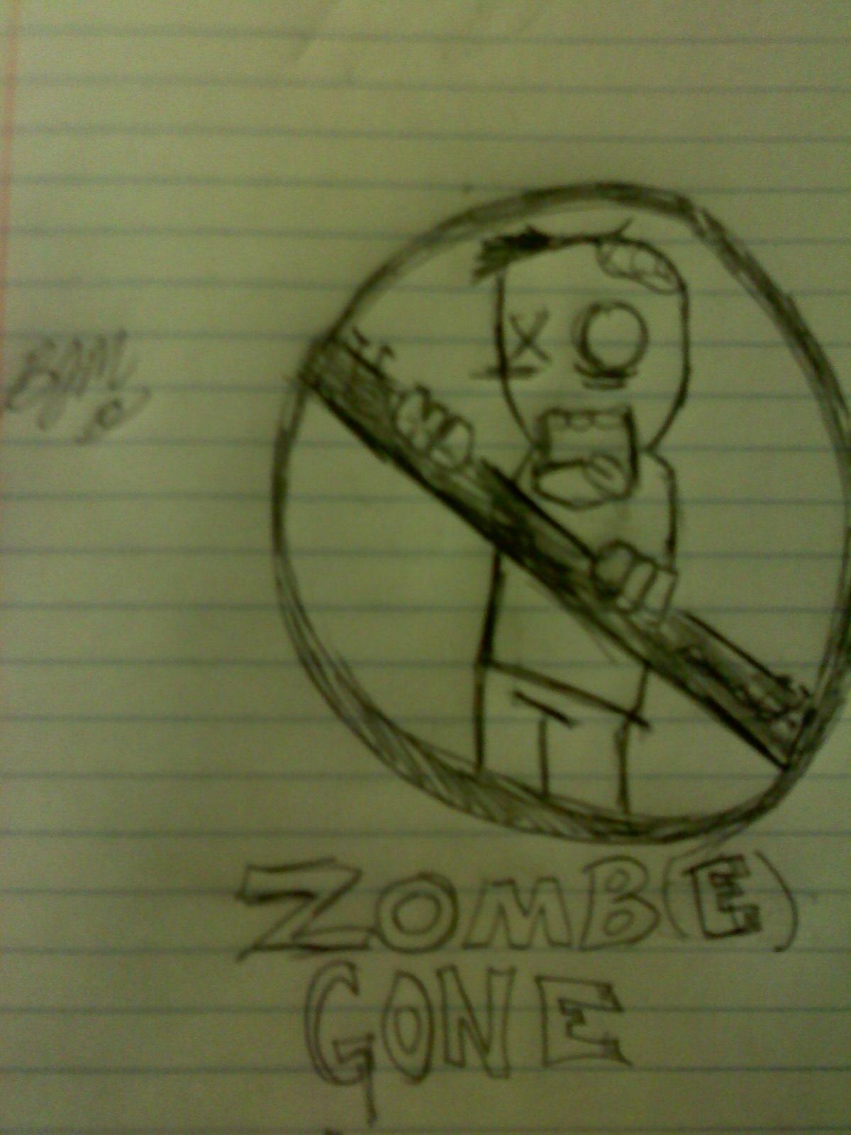 Zombie T-Shirt Design(concept)