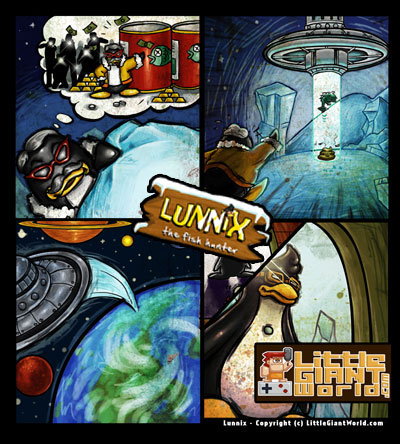 Lunnix story page two