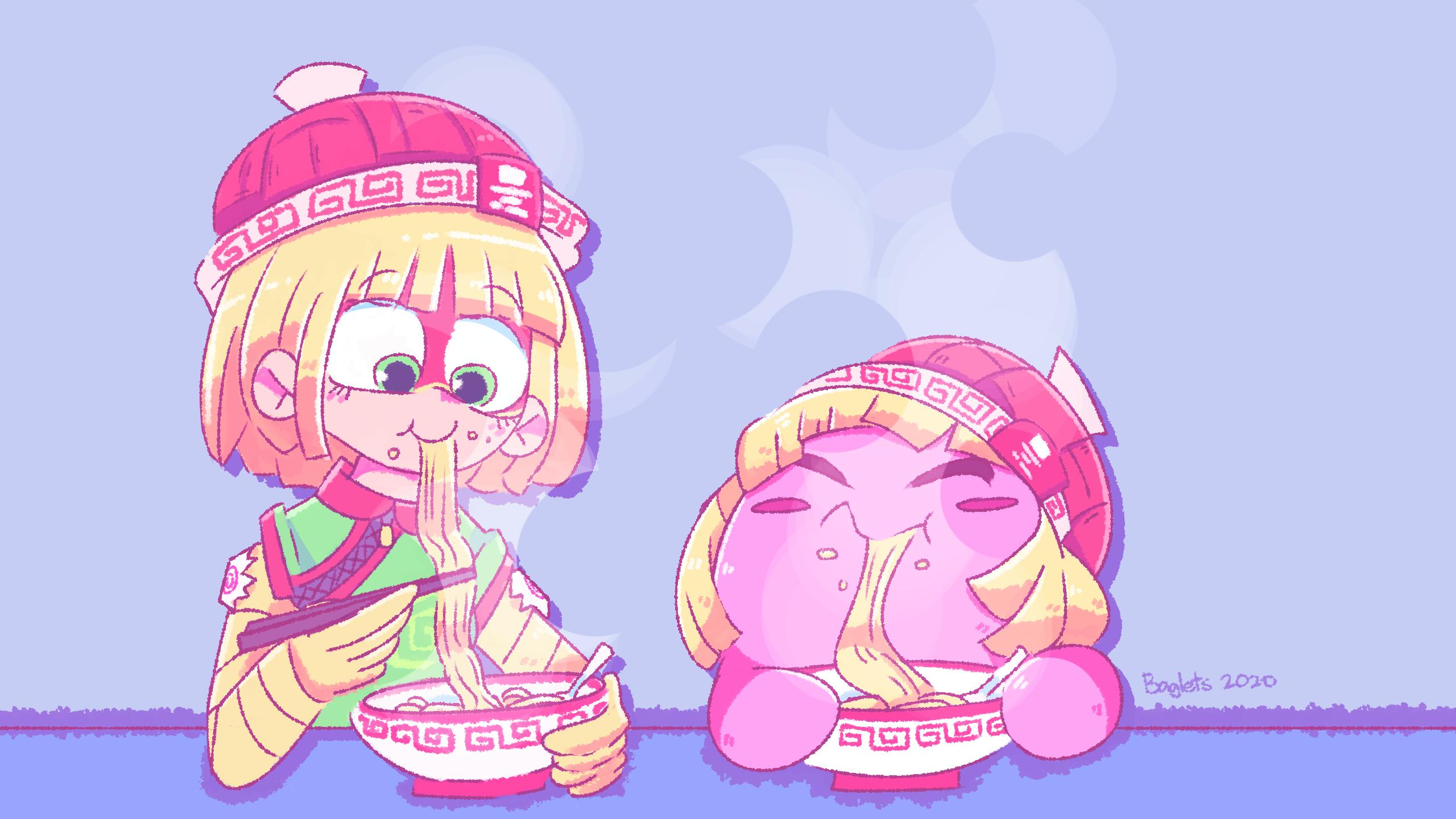 Min Min x Kirby Friendship