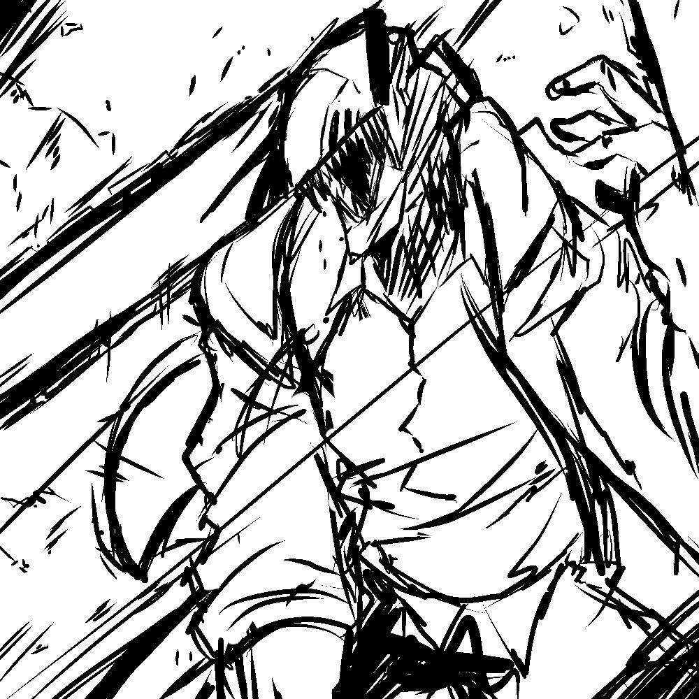 Chainsaw man sketch