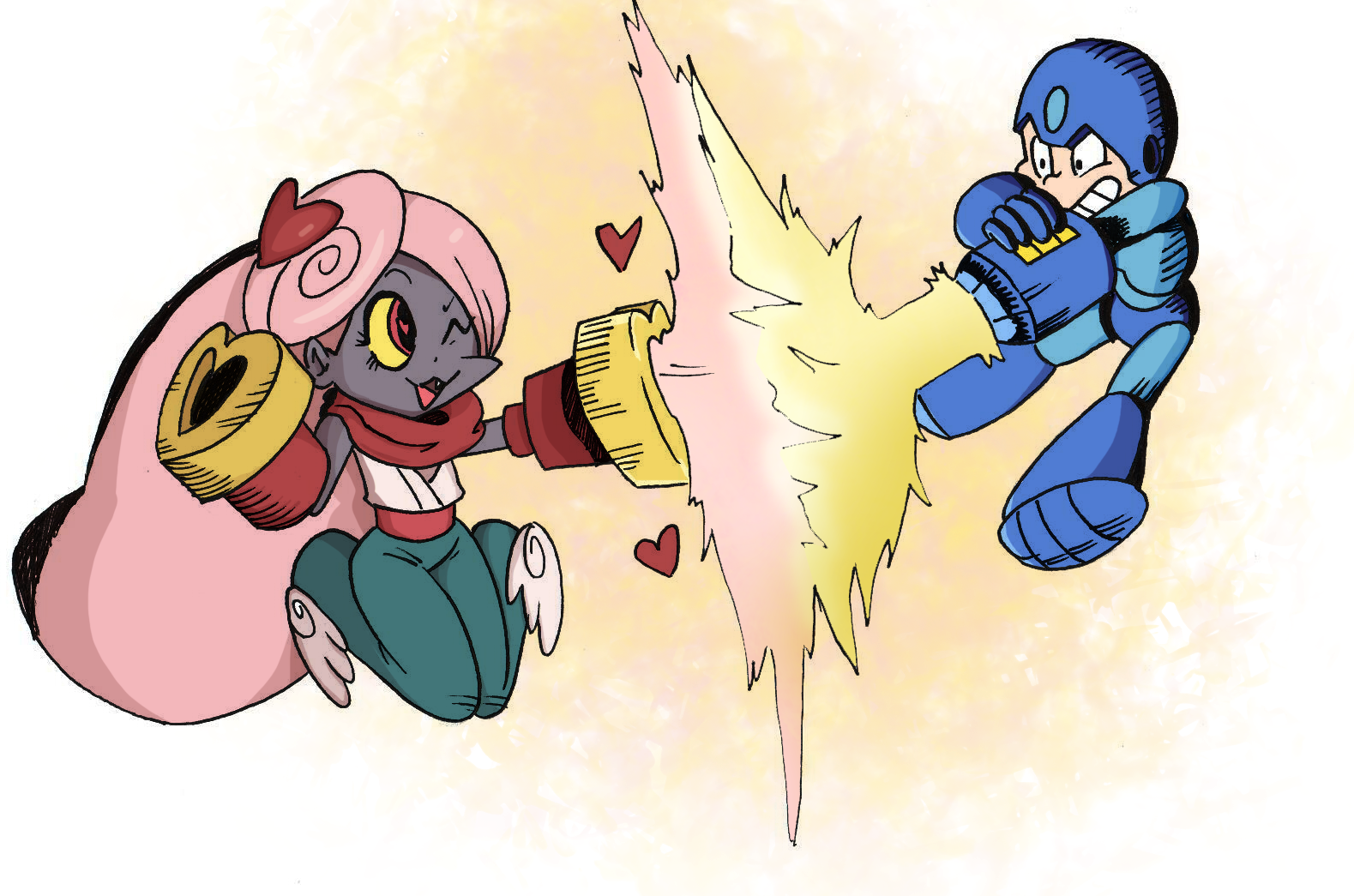 Casanuva+Casanono versus Megaman