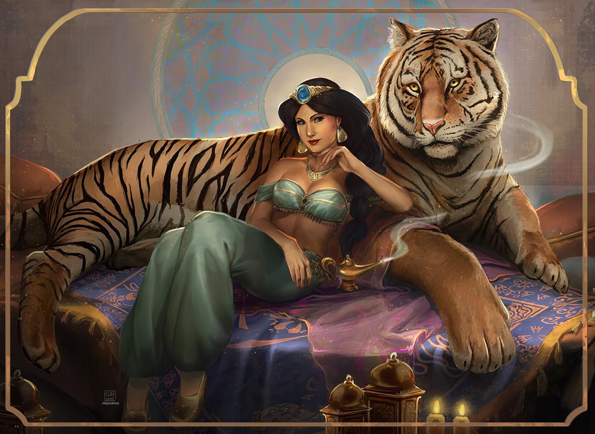 Jasmine. Patreon reward