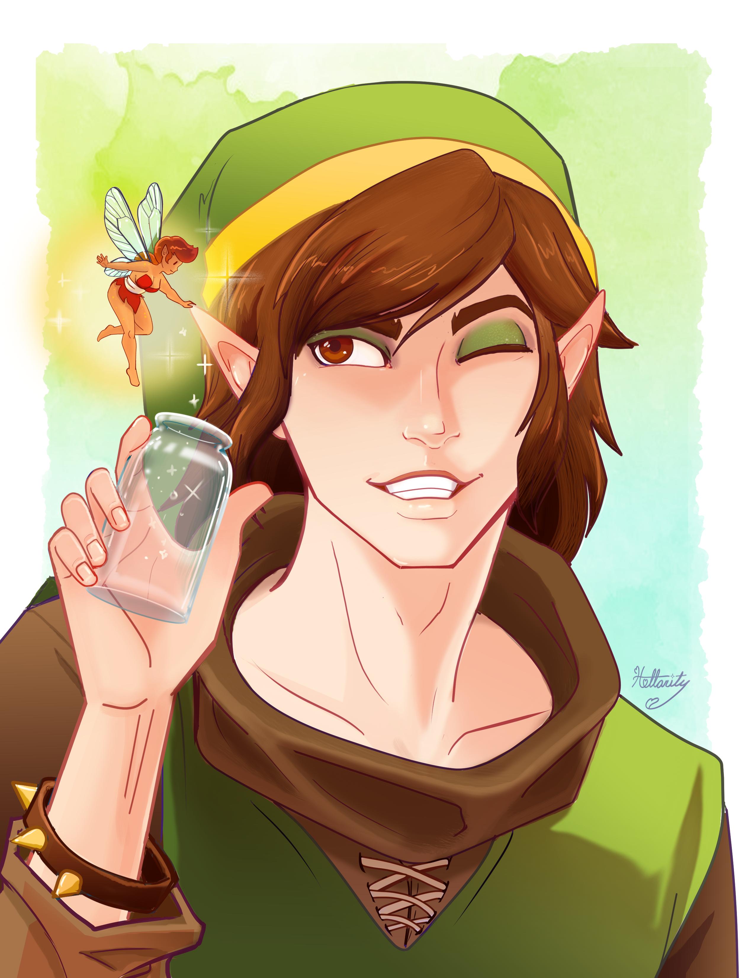 OG Link and Fairy