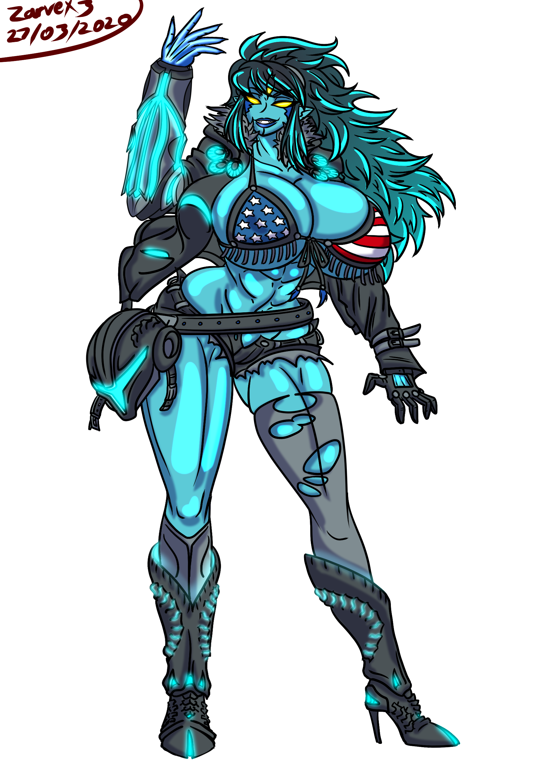 $70 Reward: All-American Dark Samus