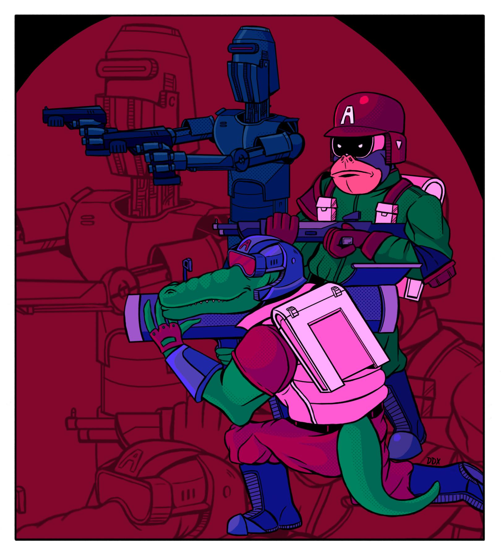 Venomian Commandos